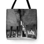 Under The Viaduct A Urban View Tote Bag