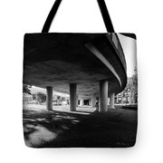 Under The Viaduct C Urban View Tote Bag