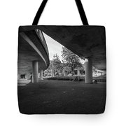 Under The Viaduct D Urban View Tote Bag