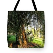 Under The Weeping Willow Tote Bag