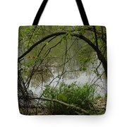 Under The Wild Wood Arch Tote Bag