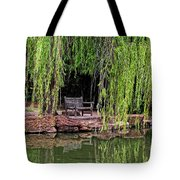 Under The Willows 7749 Tote Bag