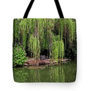 Under The Willows 7758 Tote Bag