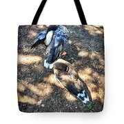 Under The Wings Tote Bag