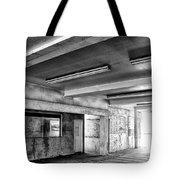 Underground Bw Tote Bag