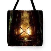 Underground Mining Lamp  Tote Bag