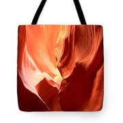Underground Pastel Flames Tote Bag