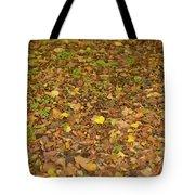 Undergrowth, Leaves Carpet. Tote Bag