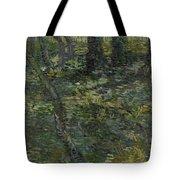 Undergrowth Saint Remy De Provence  July 1889 Vincent Van Gogh 1853  1890 Tote Bag