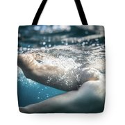 Underwater Ass Tote Bag