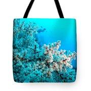 Underwater Cherry Blossom Tote Bag
