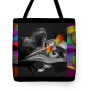 Underwater Monochrome Tote Bag