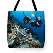 Underwater Photography Tote Bag by Dave Fleetham - Printscapes