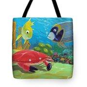 Underwater Sea Friends Tote Bag