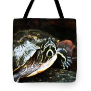 Underwater Turtle Tote Bag