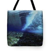 Underwater Wave - Yap Tote Bag