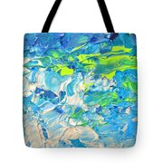Underwater Wave Tote Bag