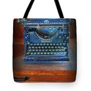 Underwood Typewriter Tote Bag by Dave Mills