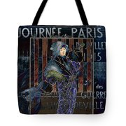 Une Valentine Parisienne Tote Bag