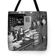 Unemployment Census, 1937 Tote Bag