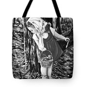 Unexpected Find Black And White Tote Bag