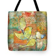 Unfinished Bird Tote Bag