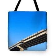 Unfinished Freeway Ramp Tote Bag