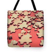 Unfinished Hearts Tote Bag