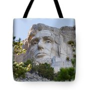 Unfinished Lincoln 2 Tote Bag