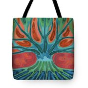 Unfinished Tree Tote Bag