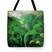 Unfurling Rainbow Soul Collection Tote Bag