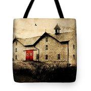 Uni Barn Tote Bag by Julie Hamilton