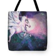 Unicorn And The Universe Tote Bag