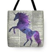 Unicorn In Space Tote Bag