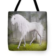 Unicorn In The Forest Tote Bag