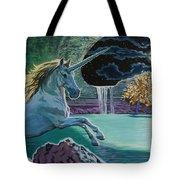 Unicorn Lake Tote Bag