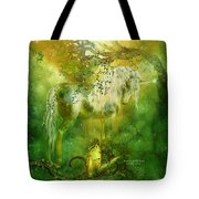 Unicorn Of The Forest  Tote Bag