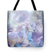 Unicorn Soulmates Tote Bag