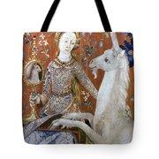 Unicorn Tapestry, 15th C Tote Bag