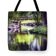 Unicorn Walk-bridge Tote Bag