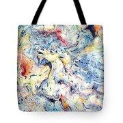 Unicorns And Rainbows  Tote Bag