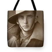 Unidentified Soldier Of The First Aif Tote Bag