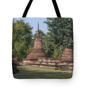Unidentified Wat Wihan And Chedi Dthst0074 Tote Bag