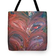 Unintended Abstract  Tote Bag