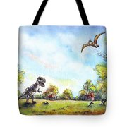 Uninvited Picnic Guests Tote Bag