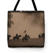 Union Cavalry Charge Tote Bag