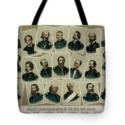 Union Commanders Of The Civil War   Tote Bag