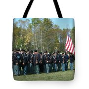 Union Infantry March Tote Bag
