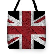 Union Jack Flag Deco Swing Tote Bag