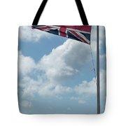 Union Jack Off Land's End Tote Bag